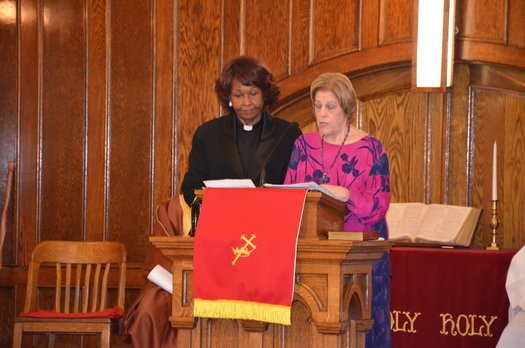 """Blessing of Hands Inter-Faith Service"" hosted by Third Baptist Church"