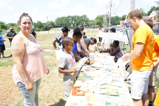 Books 4 Buddies has give-away for students at LMHA Weiler Homes | The Toledo Journal
