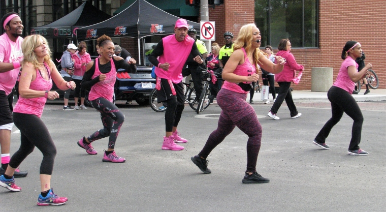 Race for the Cure FI_Aerobic Exercise encouragement | The Toledo Journal
