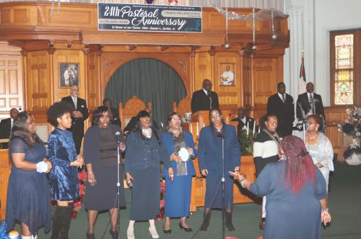 Ebenezer Baptist Pastoral Anniv | The Toledo Journal