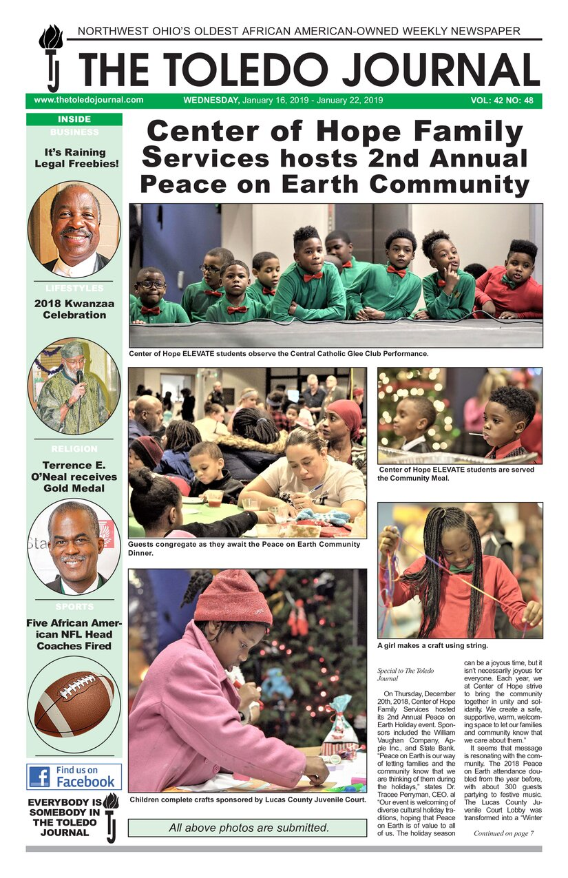 The Toledo Journal January 16, 2019