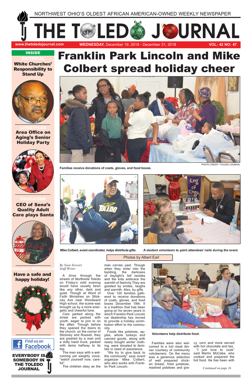 The Toledo Journal December 19, 2018