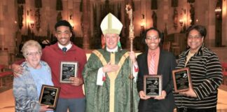 Catholic Diocese of Toledo Black Ministries celebrates Black History bestowing Drum Major Awards