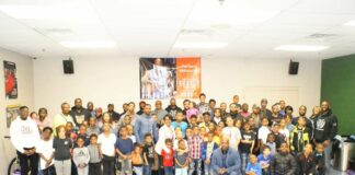 Martin Luther King Academy hosts father son retreat