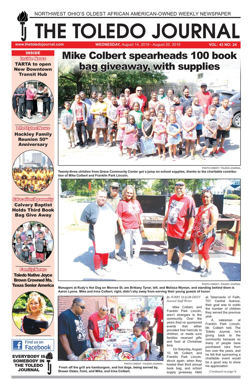 The Toledo Journal August 14, 2019