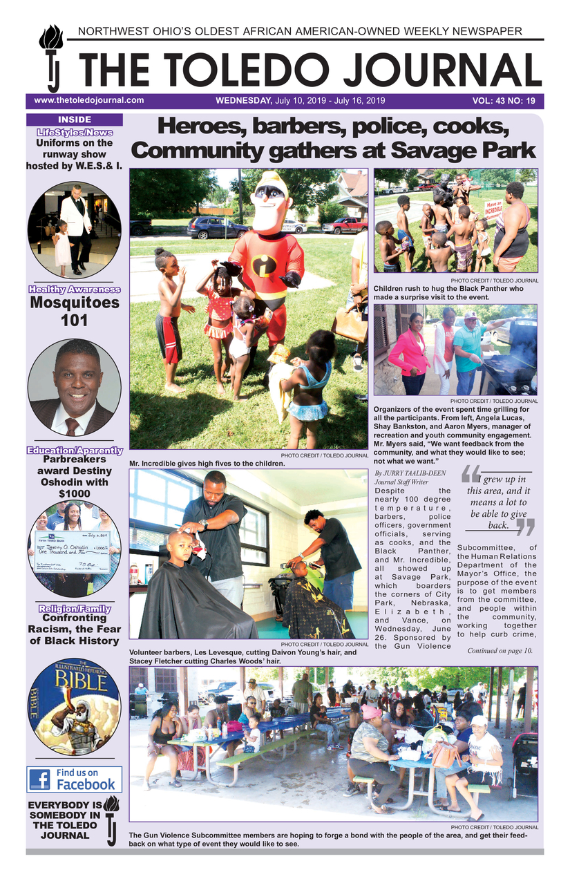 The Toledo Journal July 10, 2019