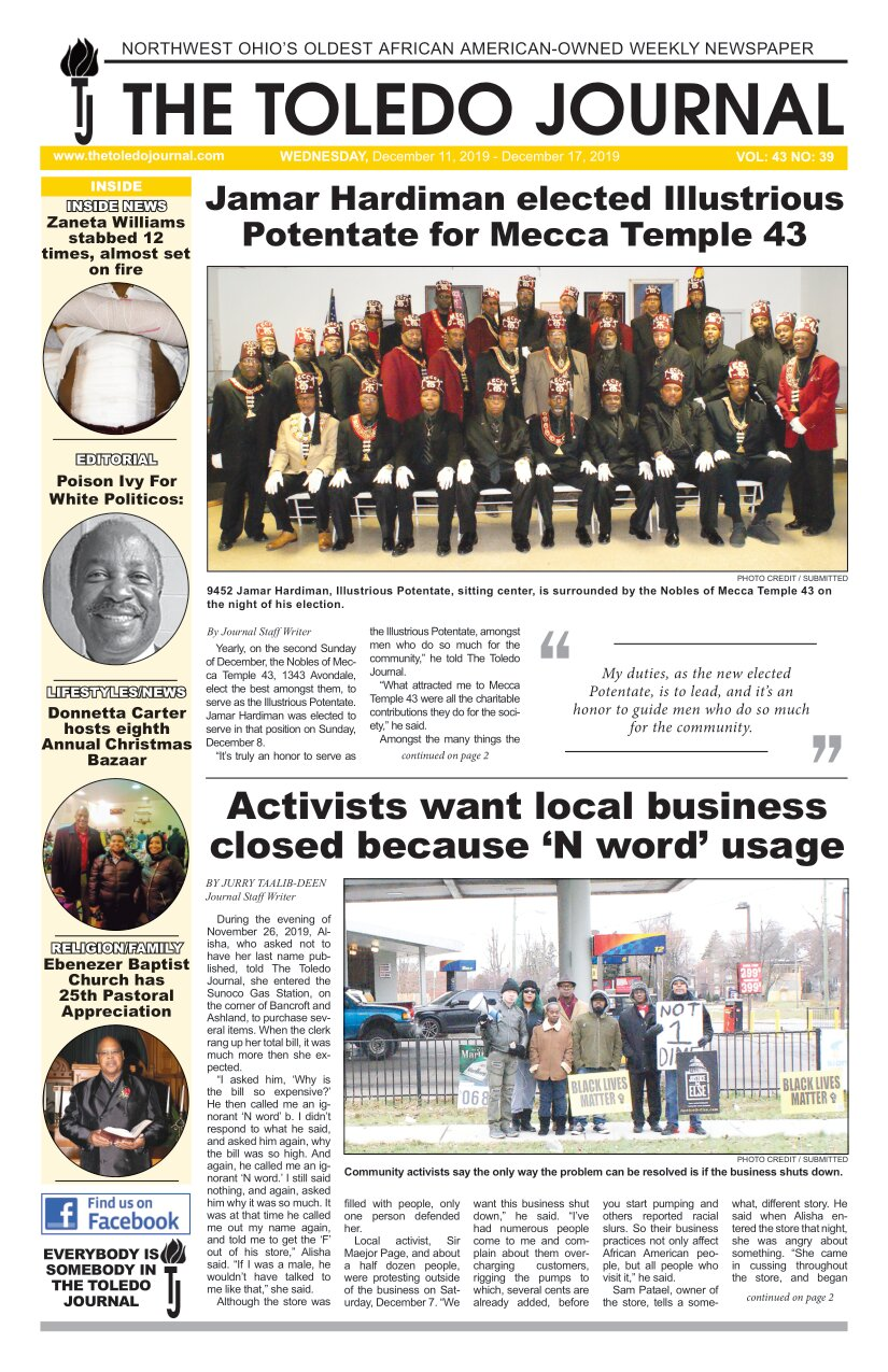 The Toledo Journal December 11, 2019