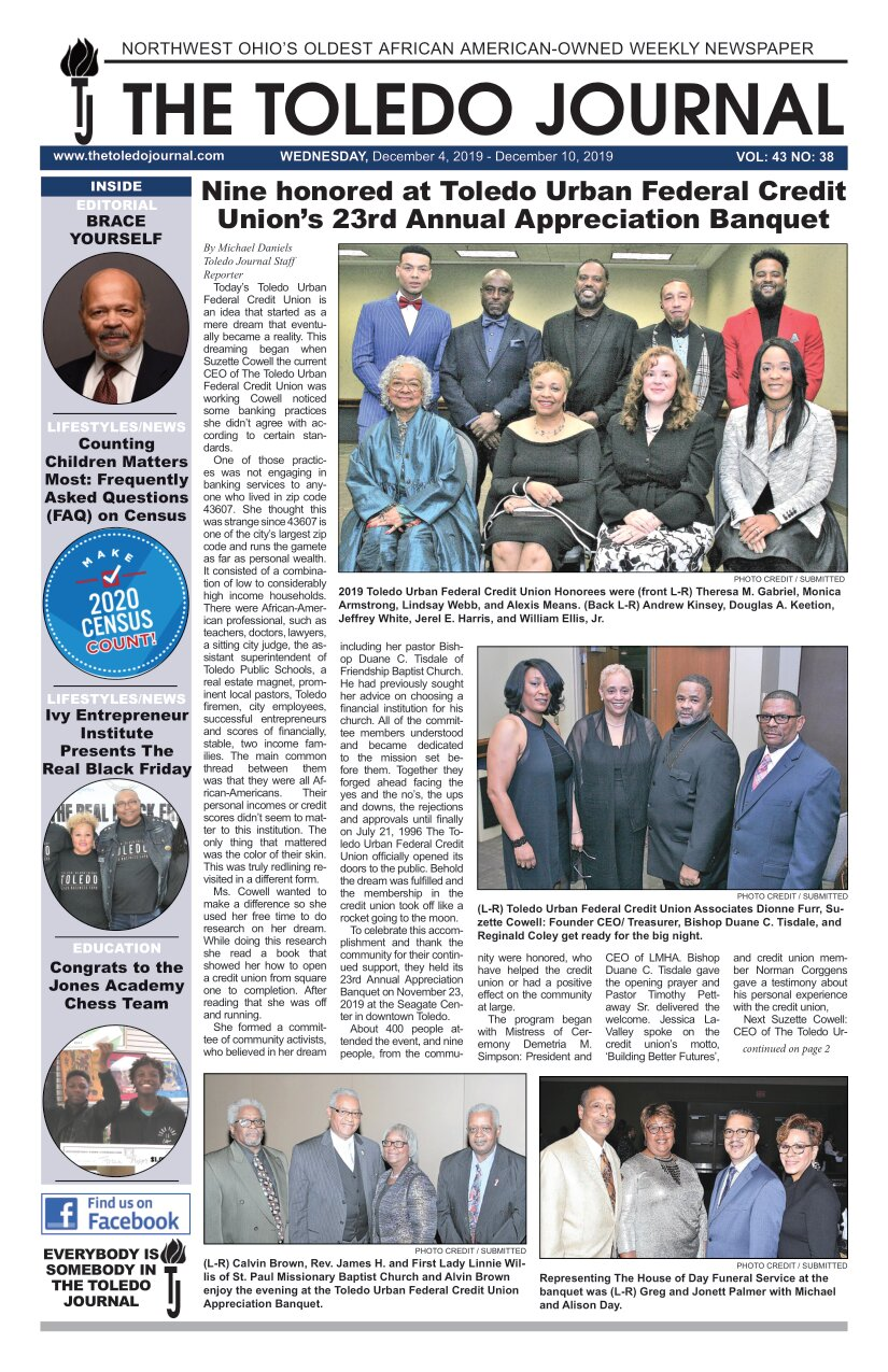 The Toledo Journal December 4, 2019