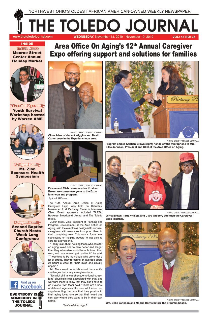 The Toledo Journal November 13, 2019
