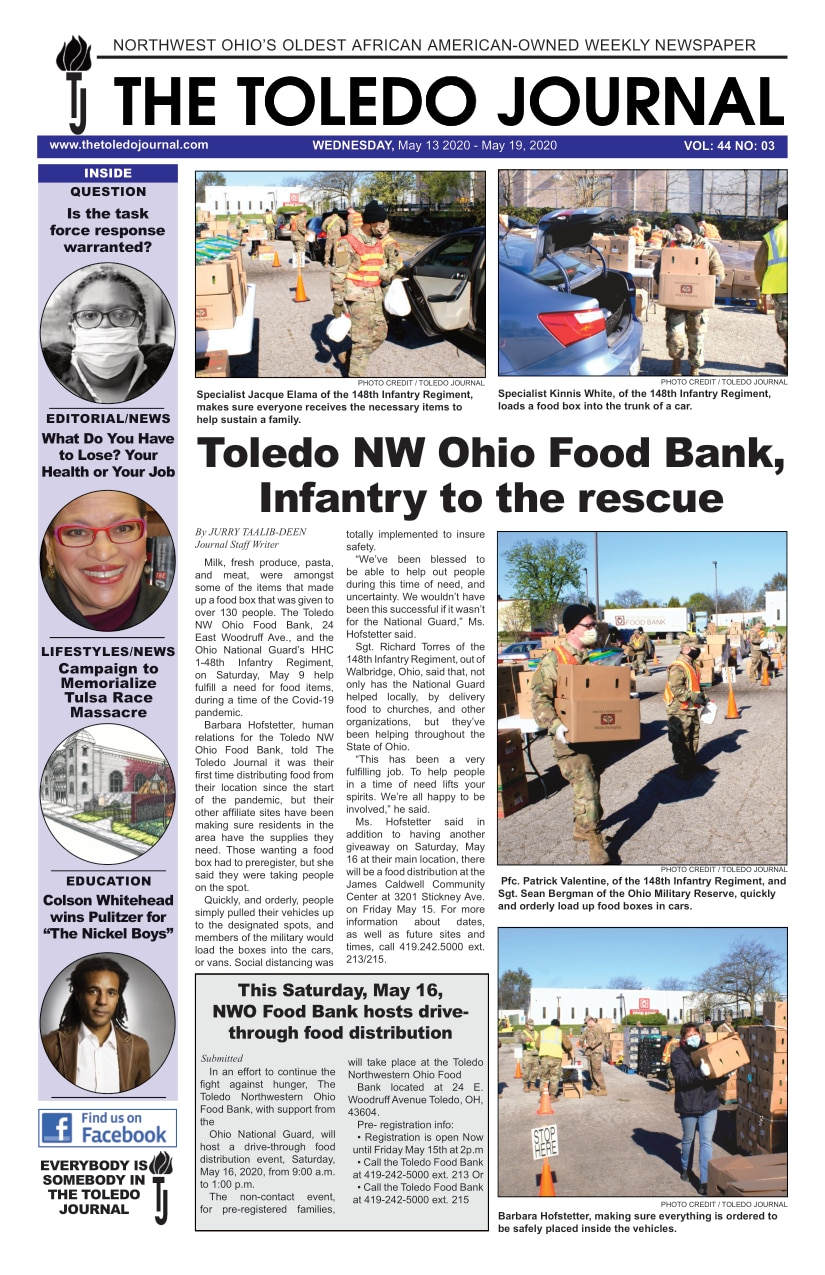 The Toledo Journal May 13, 2020