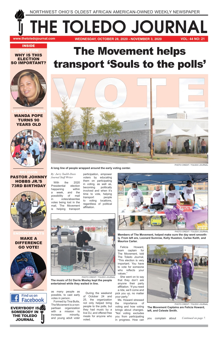 The Toledo Journal October 28, 2020