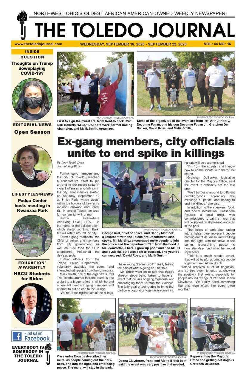 The Toledo Journal September 16, 2020