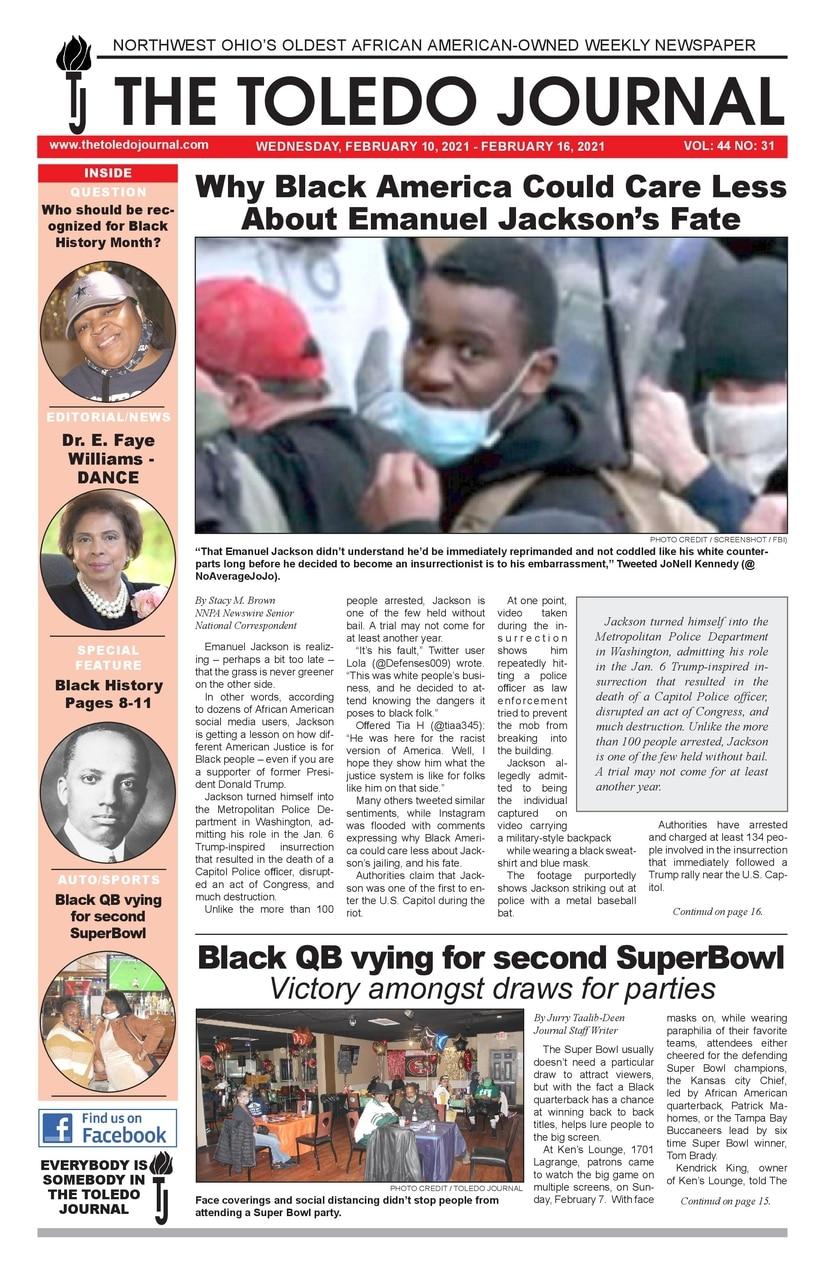 The Toledo Journal February 10, 2021