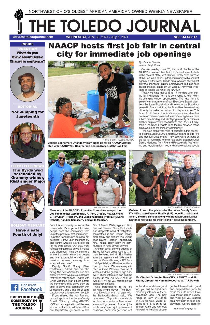 The Toledo Journal June 30, 2021